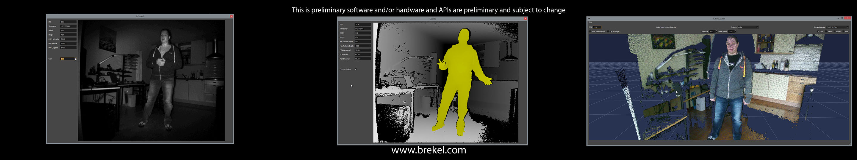 CGTalk | Kinect 2 Video/InfraRed/Depth/PointCloud