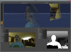CGTalk | First screenshots of actual Kinect 2 pointcloud data